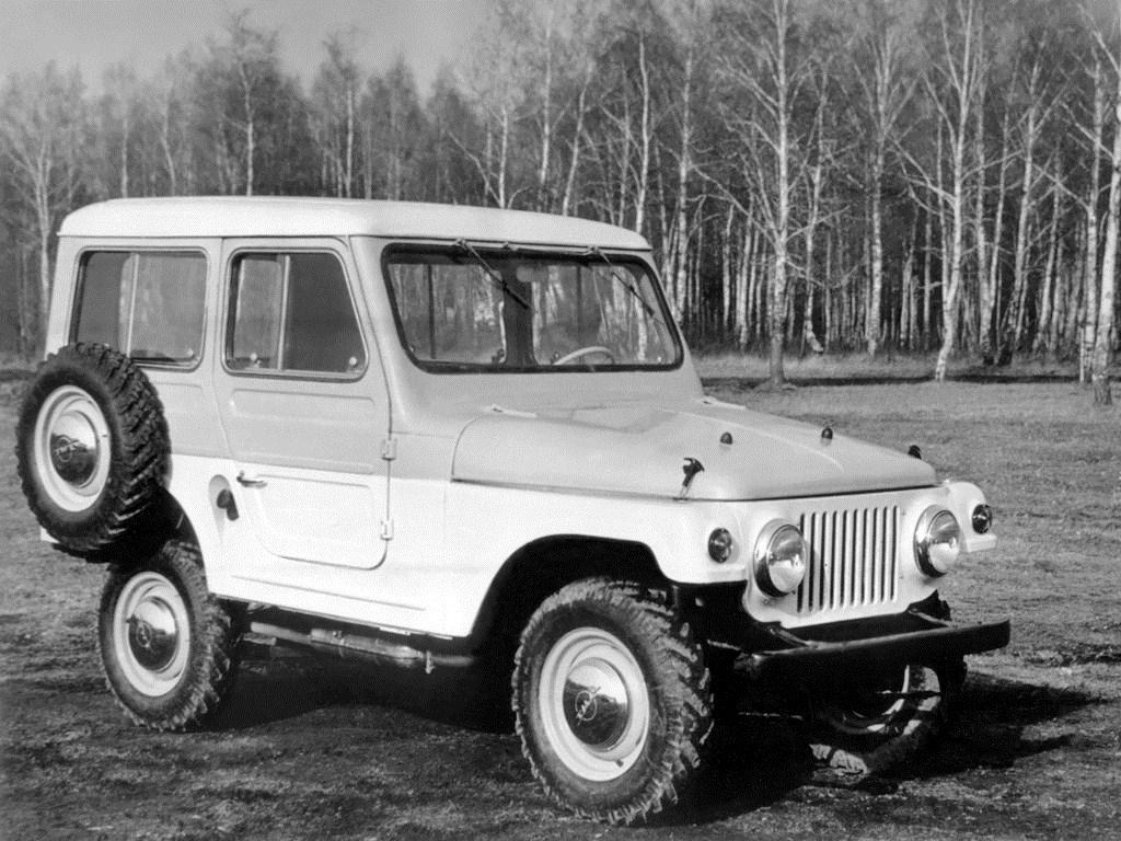 1960. MZMA Moskvich 416 (Concept)