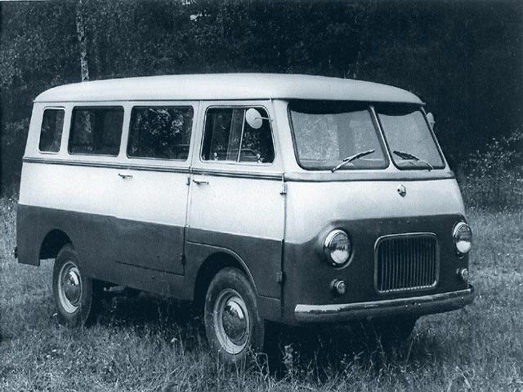 1959. MZMA Moskvich A9 (Concept)