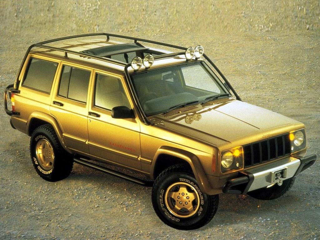 1997. Jeep Cherokee Casablanca Concept (XJ)(1 экз)