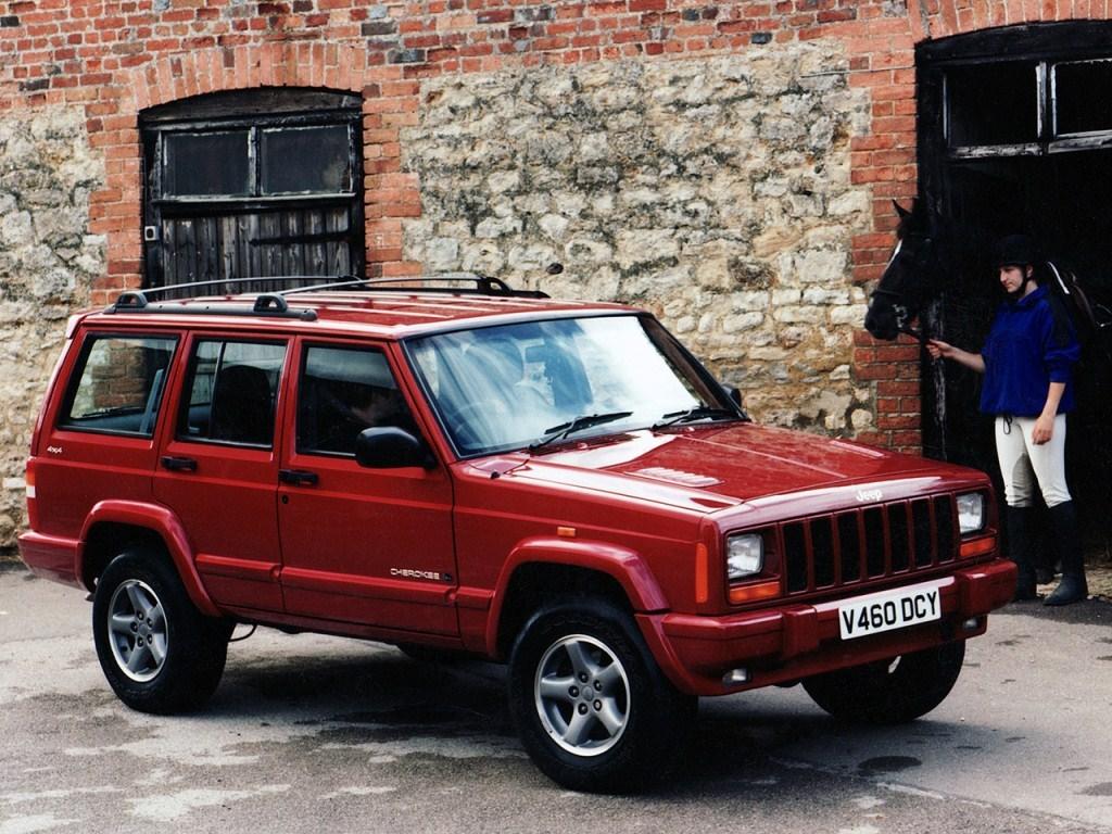1997–2001. Jeep Cherokee Orvis UK-spec (XJ)
