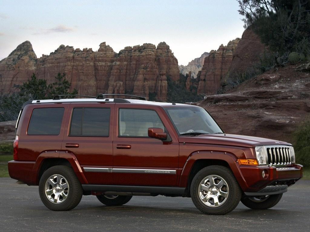 2006-2009. Jeep Commander Overland (XK)