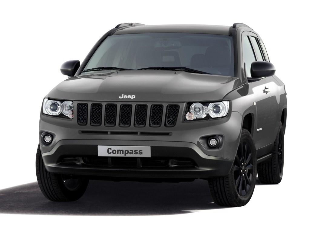 2012. Jeep Compass Production-Intent Concept