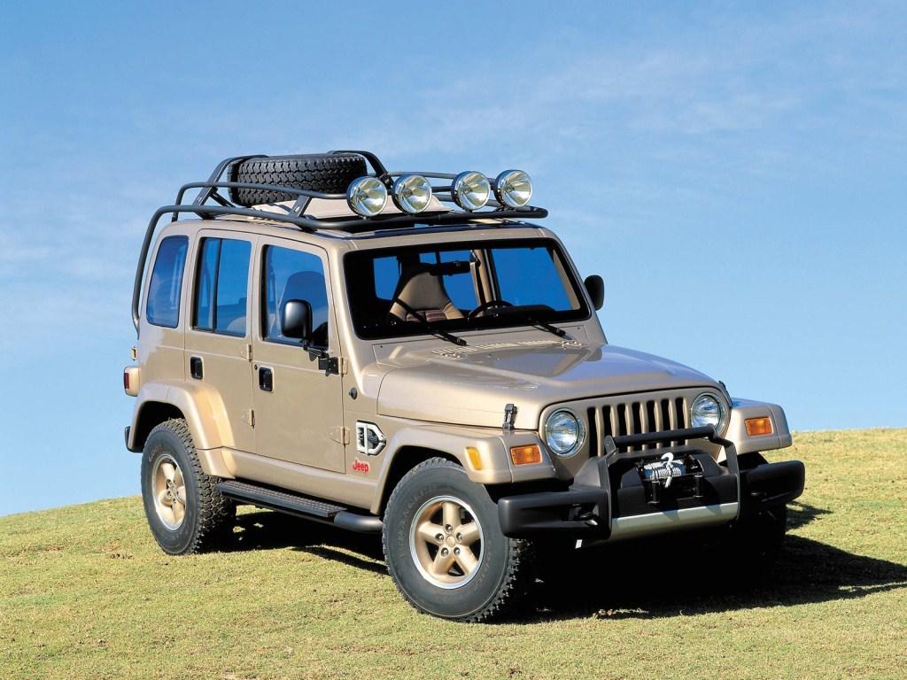 1997. Jeep Dakar Concept (1 экз)