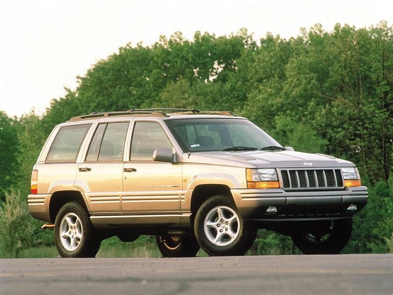 1998. Jeep Grand Cherokee 5.9 Limited UK-spec (ZJ)