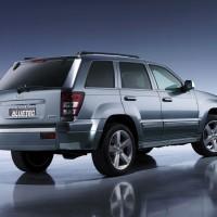 2006. Jeep Grand Cherokee BlueTec Concept (WK)