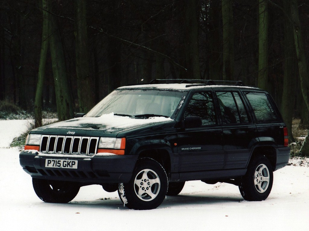 1996-1998. Jeep Grand Cherokee Laredo UK-spec (ZJ)