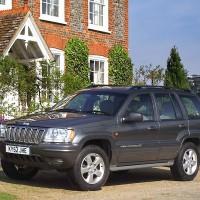 2001-2003. Jeep Grand Cherokee Overland UK-spec (WJ)