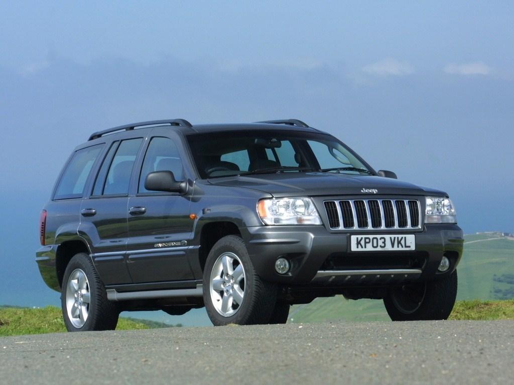 2003-2004. Jeep Grand Cherokee Overland UK-spec (WJ)