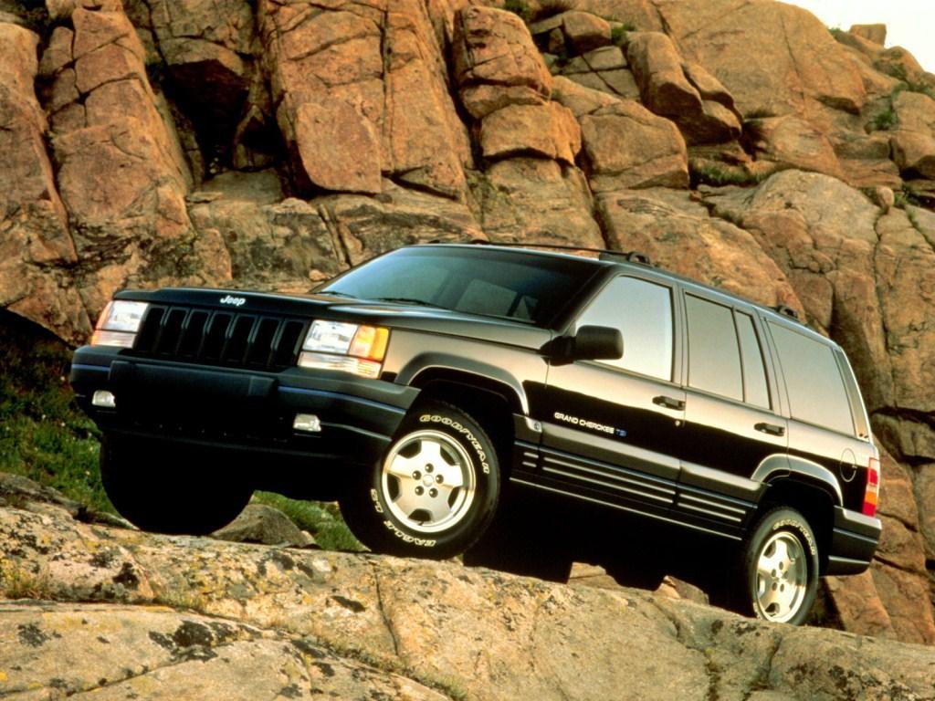 1997-1998. Jeep Grand Cherokee TSi (ZJ)