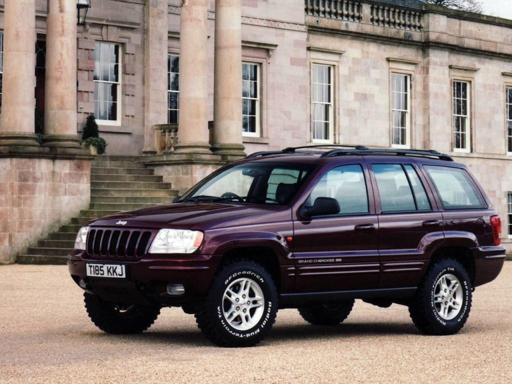 1998–2003. Jeep Grand Cherokee UK-spec (WJ)