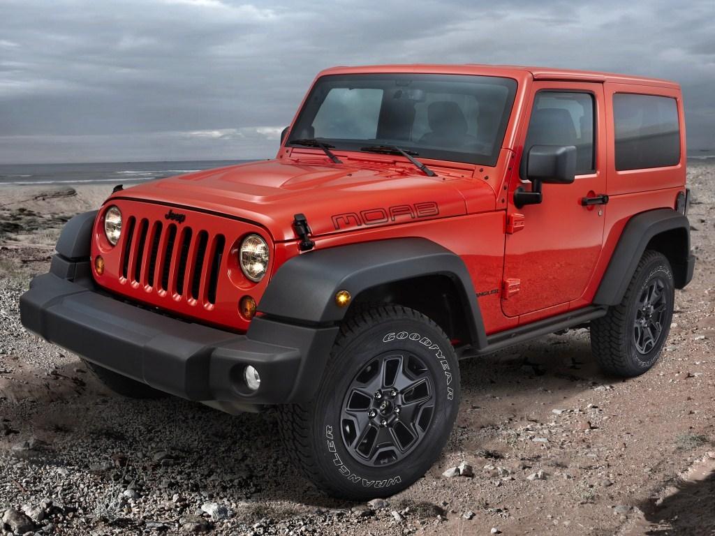 2012. Jeep Wrangler Moab EU-spec (JK)
