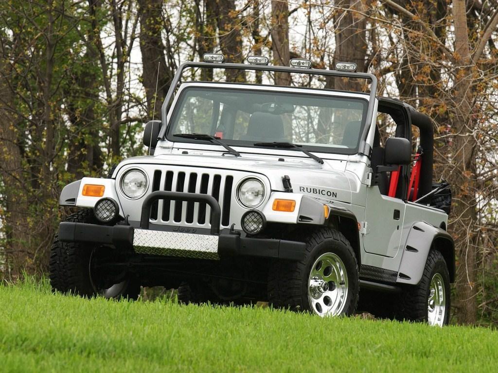 2003. Jeep Wrangler Rubicon Tomb Raider (TJ)
