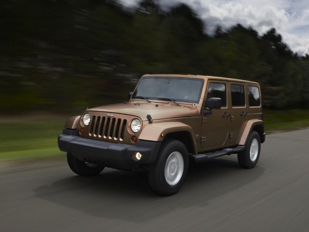 2011. Jeep Wrangler Unlimited 70th Anniversary EU-spec (JK)