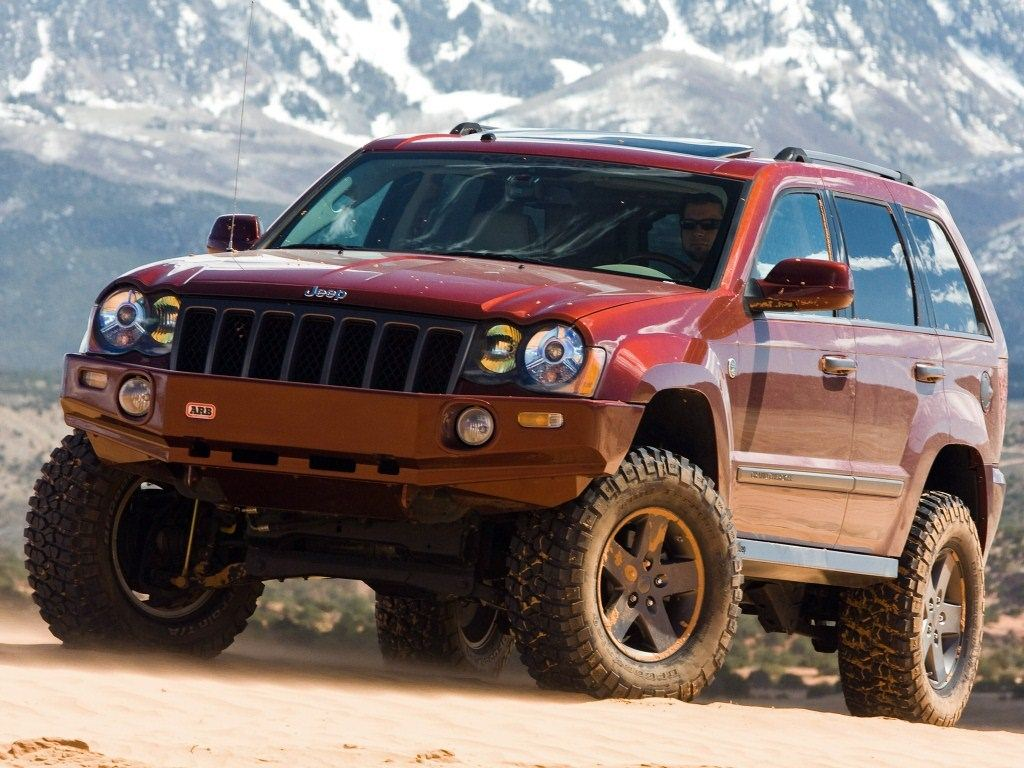 2009. Jeep Grand Canyon II (Concept) (WK)