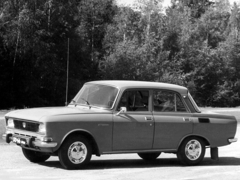 1974. AZLK Moskvich 2140 (Concept)