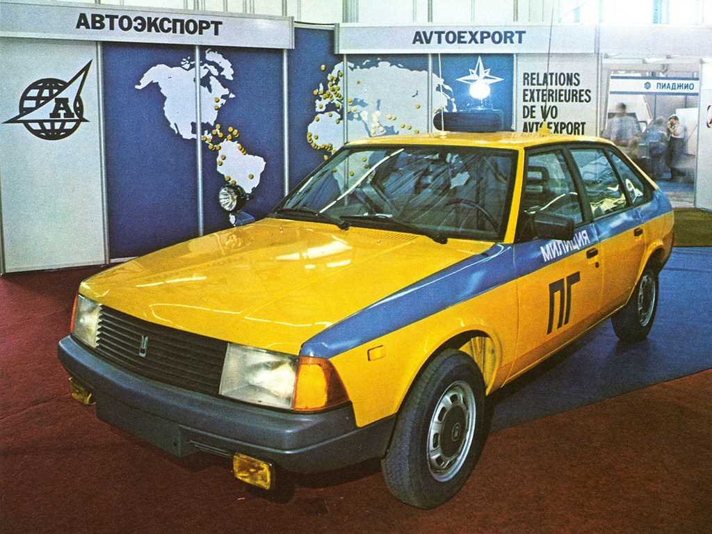 1992-1996. AZLK Moskvich 21418 Patrul