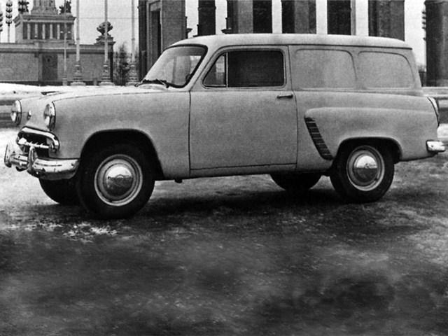 1957. MZMA Moskvich 429 (Concept)