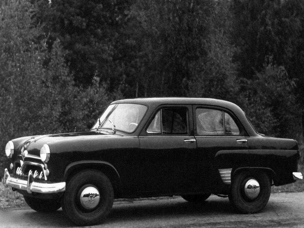 1954-1955. MZMA Moskvich 402 (Concept)