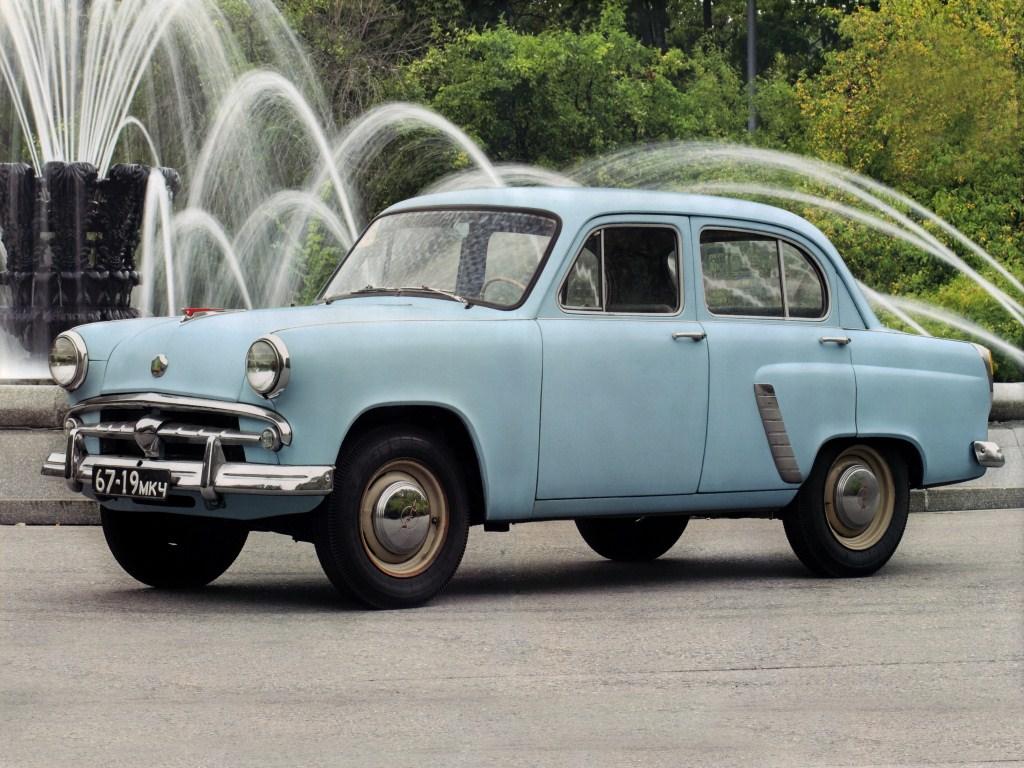 1956-1958. MZMA Moskvich 402B