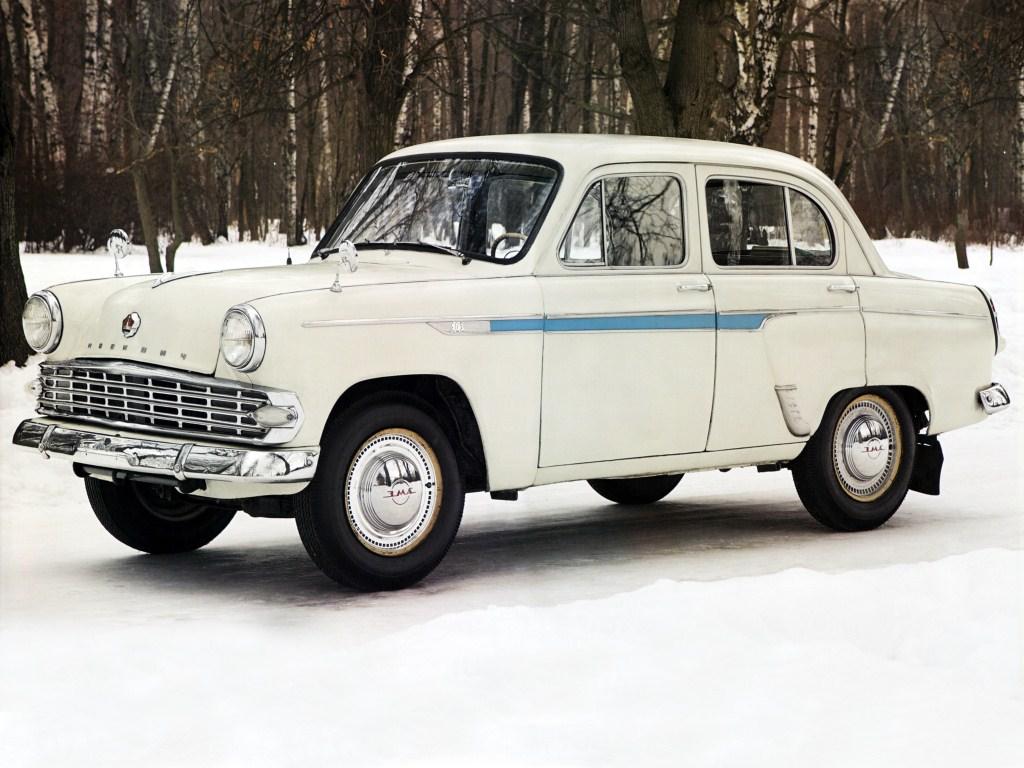 1962-1965. MZMA Moskvich 403E