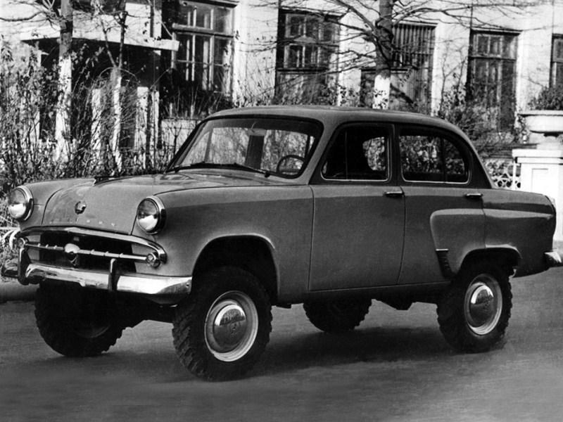 1958-1961. MZMA Moskvich 410N