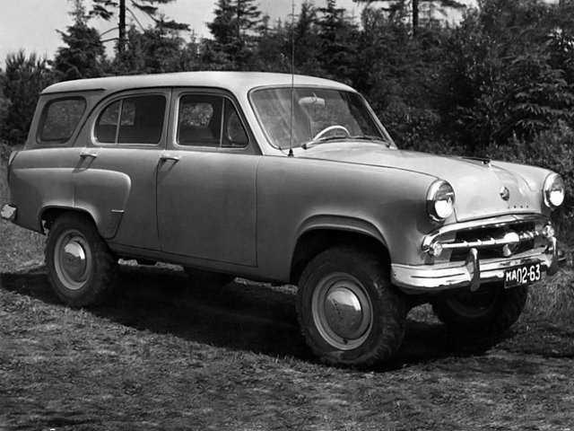 1958-1961. MZMA Moskvich 411