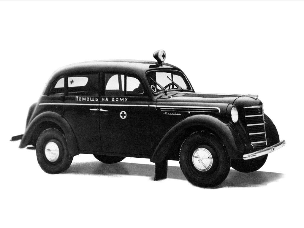 1947-1954. MZMA Moskvich 400_420М