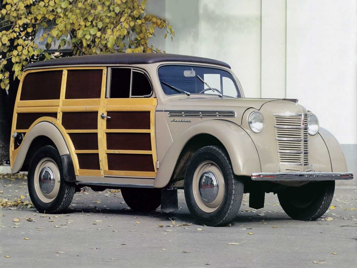 1948-1956. MZMA Moskvich 400-422
