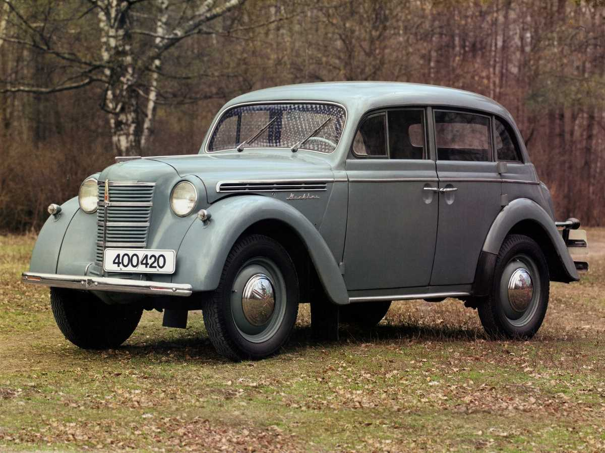 1946-1956. MZMA Moskvich 400-420