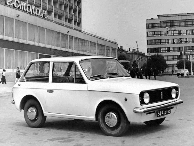 1973. ZAZ 1102 (Concept)
