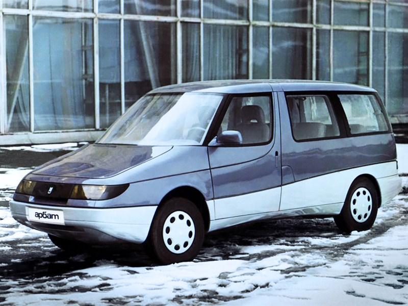 1991. AZLK 2139 Arbat (Concept)