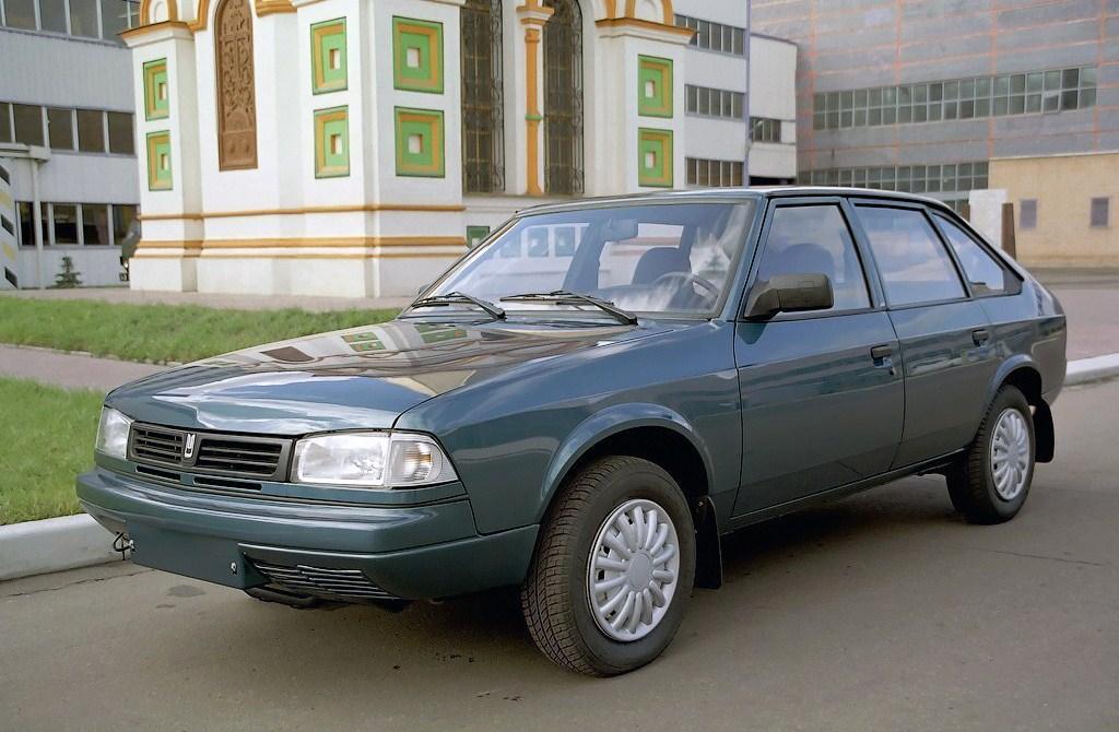 1997-2001. AZLK 214100 Sviatogor