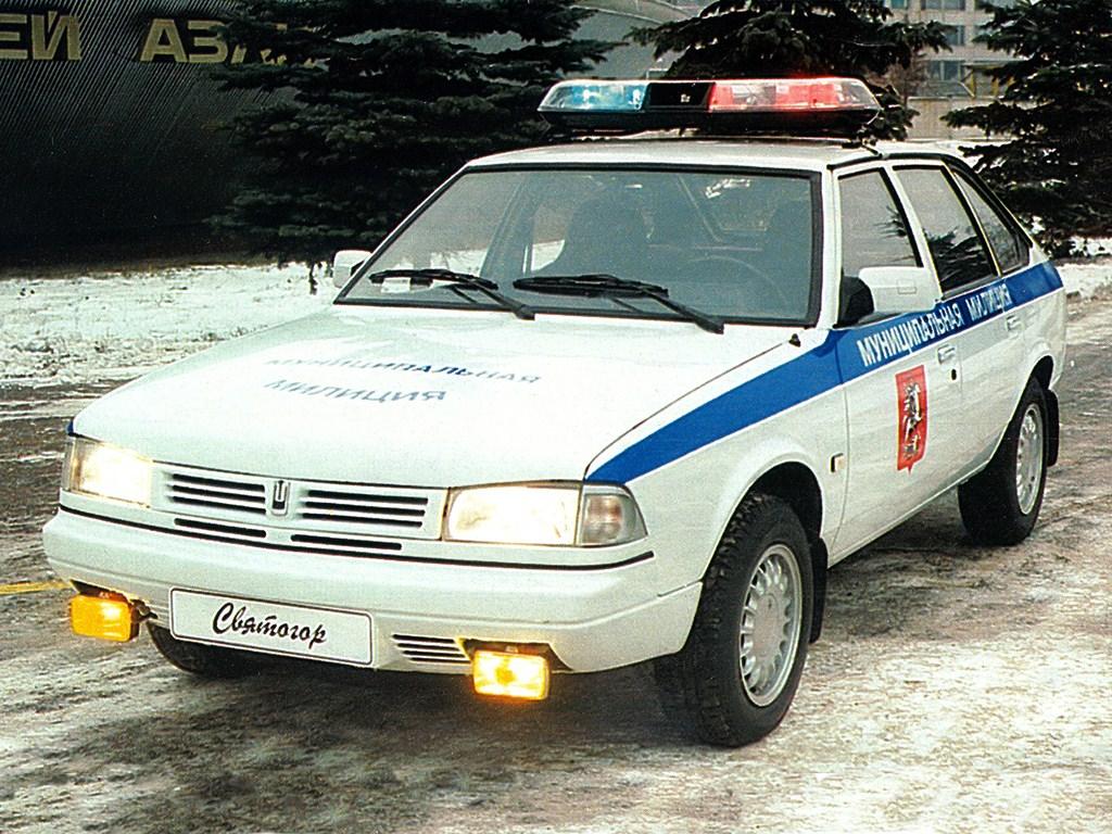 1998-2001. AZLK 2141 Sviatogor (муниципальная милиция)
