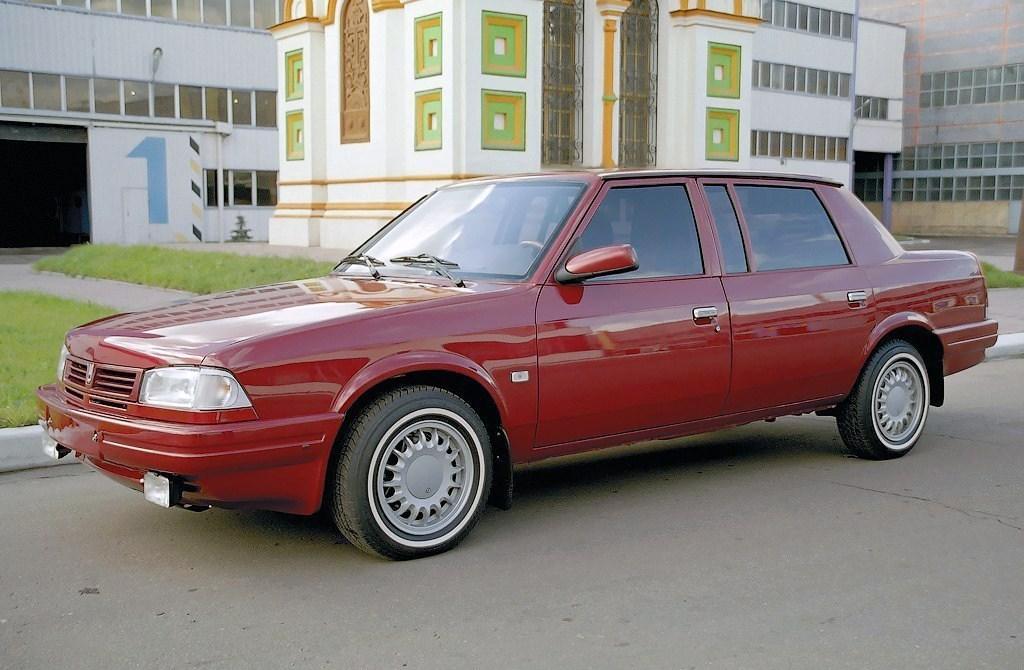 1997-2001. AZLK 2142 Kniaz Vladimir