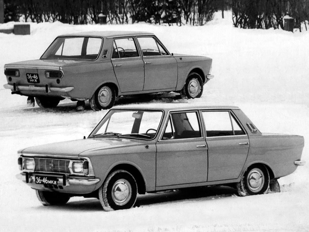 1970. AZLK Moskvich 3-5-2 (Concept)