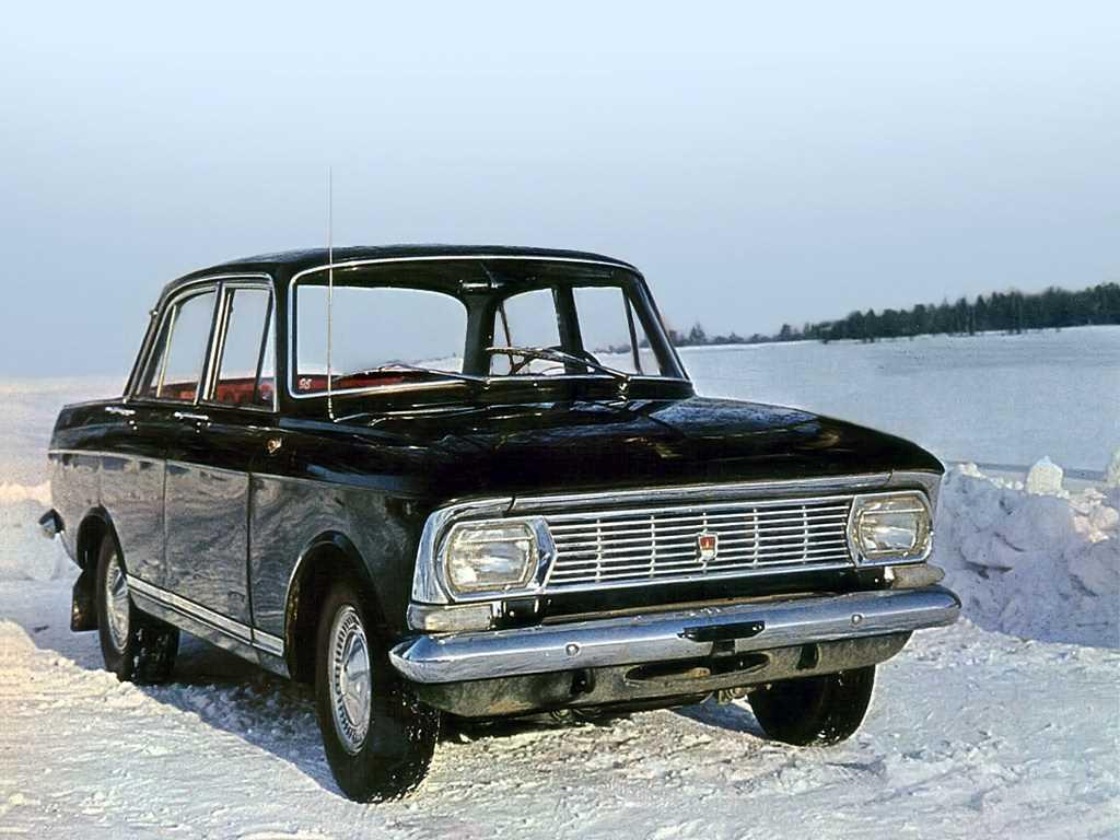 1968. AZLK Moskvich 412IE (Concept)
