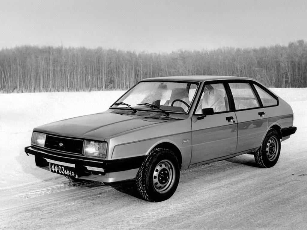 1978. AZLK Moskvich 2141 Golden Ring