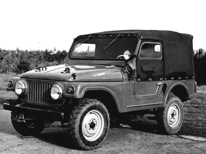 1959. MZMA Moskvich 415 №2 (Concept)
