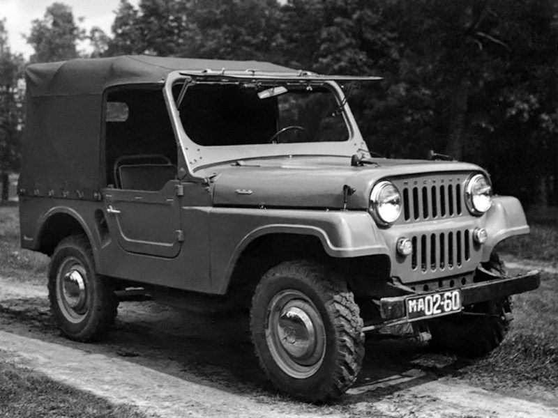 1959. MZMA Moskvich 415 №1 (Concept)