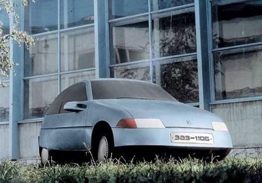 1990. ZAZ 1106 (Concept)