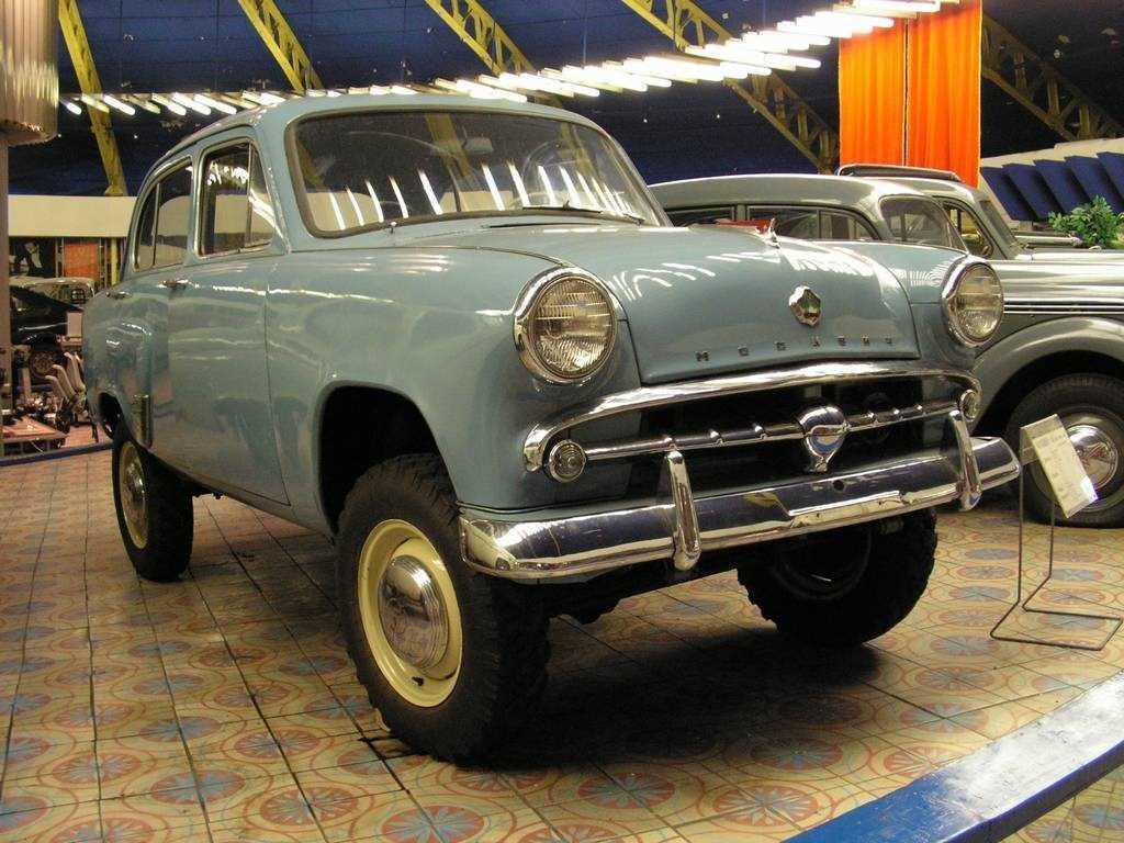 1957-1958. MZMA Moskvich 410