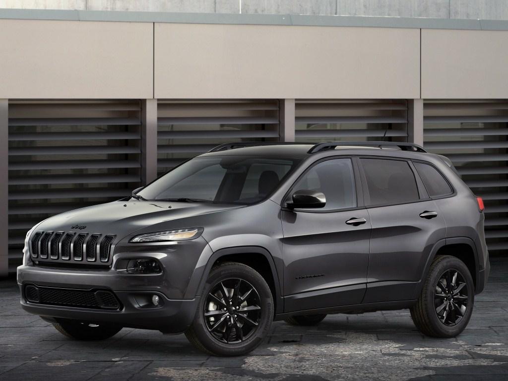 2014. Jeep Cherokee Altitude (KL)