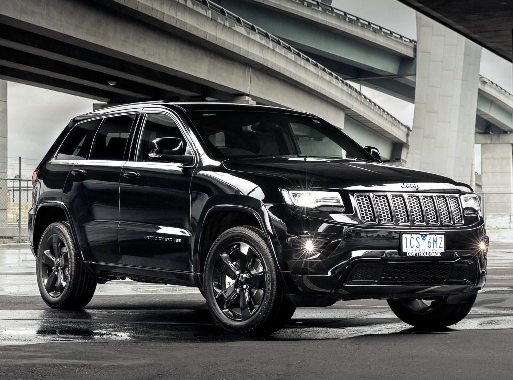 2014. Jeep Grand Cherokee Blackhawk (WK2)