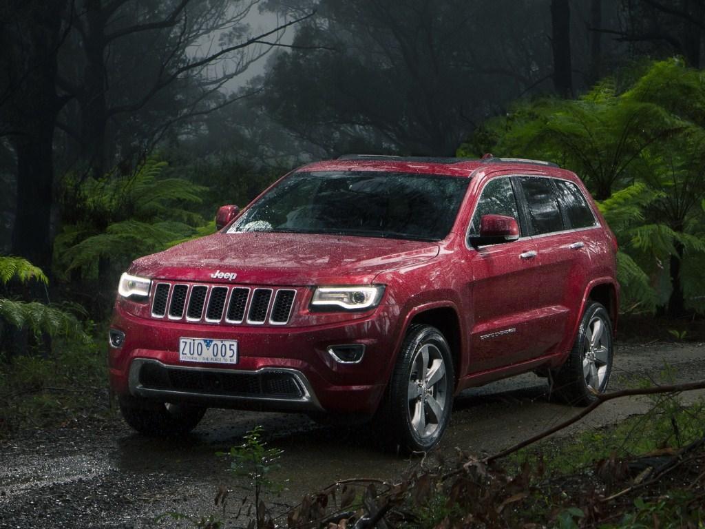 2013–н.в. Jeep Grand Cherokee Overland (WK2)
