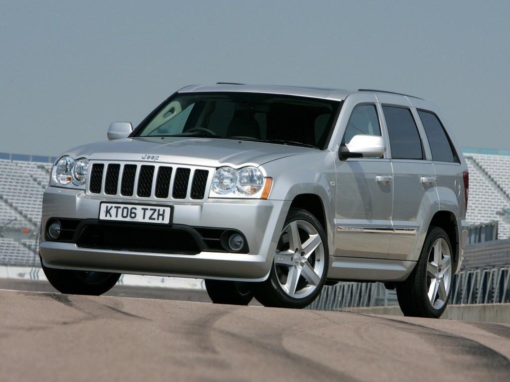 2006-2010. Jeep Grand Cherokee SRT8 UK-spec (WK)