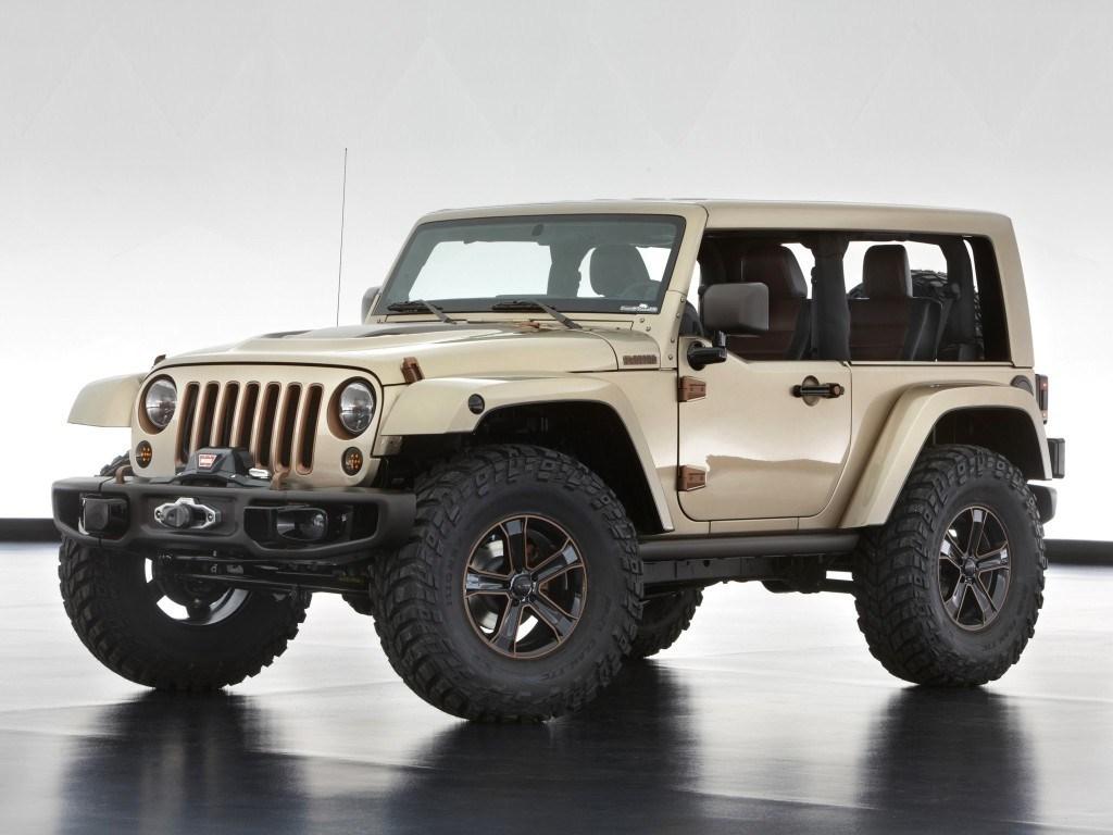 2013. Jeep Wrangler Flattop Concept (JK)
