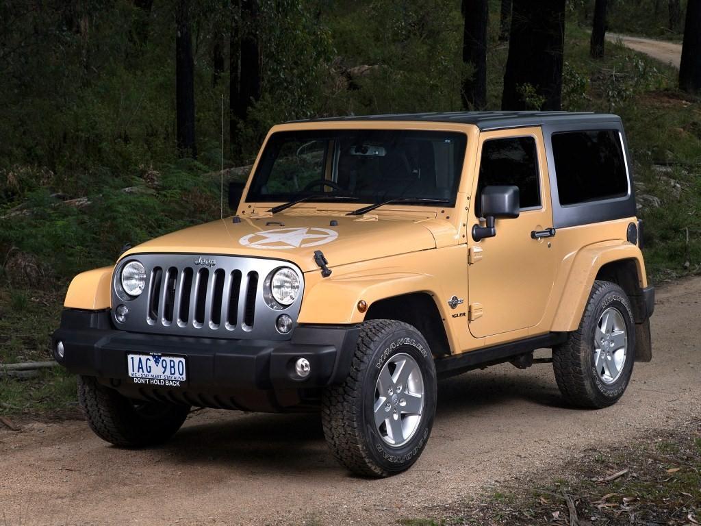 2014–н.в. Jeep Wrangler Freedom AU-spec (JK)