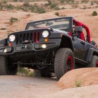 2014. Jeep Wrangler Level Red Concept (JK)