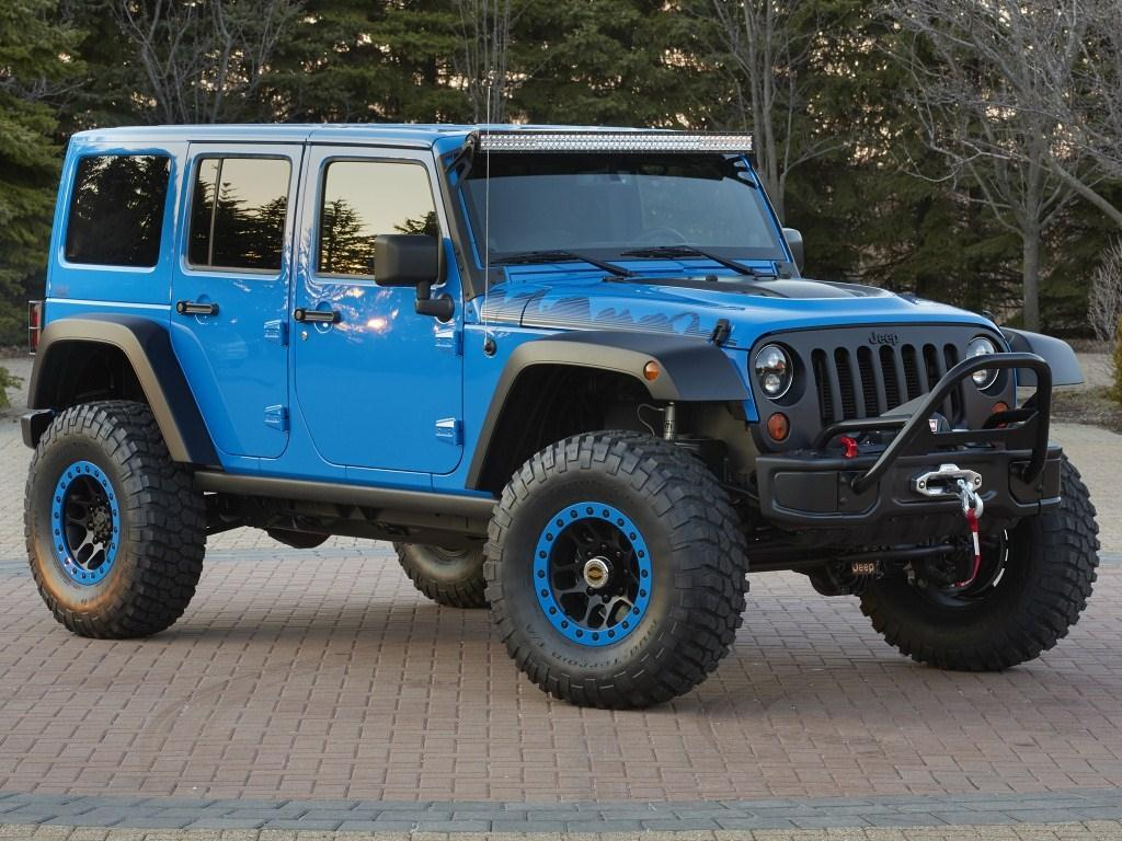 2014. Jeep Wrangler Maximum Performance Concept (JK)