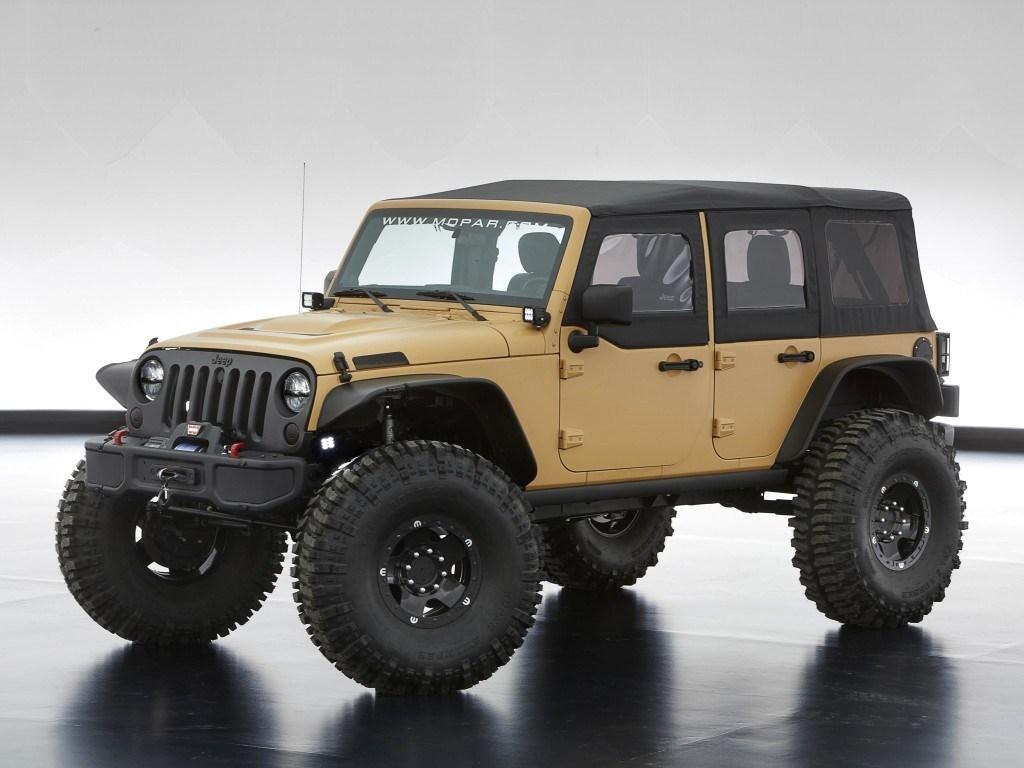 2013. Jeep Wrangler Sand Trooper II Concept (JK)
